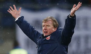 Steve McClaren SC Heerenveen vs FC Twente Enschede