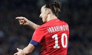 Zlatan Ibrahimovic's PSG take on Valencia in the last 16.