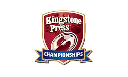 Kingstone Press Cider will sponsor the RFL's Championship and Championship One for two seasons