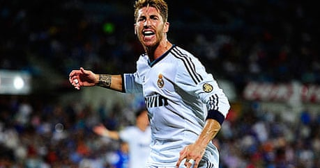 sergio ramos 39 one mistake against manchester united and. Black Bedroom Furniture Sets. Home Design Ideas