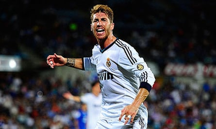 Sergio Ramos is looking forward to playing Manchester United