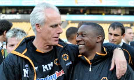 Mick McCarthy and Terry Connor