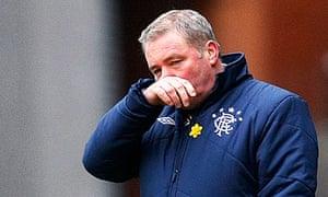 Rangers' manager McCoist