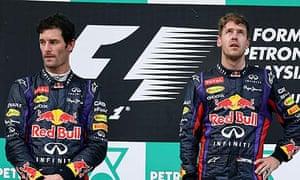Mark Webber Sebastian Vettel Red Bull
