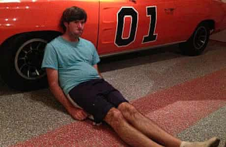 Dufnering with Bubba Watson.