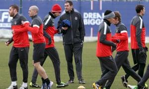 Paris St-Germain assistant coach Paul Clement