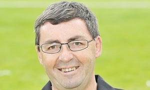 Mike Scott as London Welsh team manager