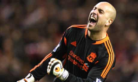 José Reina is happy at Liverpool