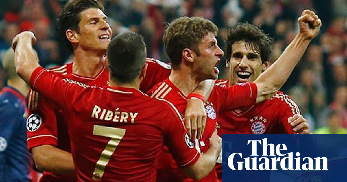 Bayern Munich Crush Barcelona With Thomas Muller Leading The Rout Champions League The Guardian