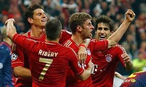 Bayern thrash Barcelona 8-2 to reach Champions League semis   Barcelona- Bayern