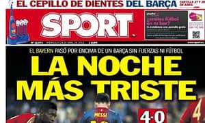 Sport front page