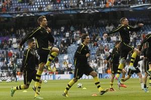 Dortmund vs Real Madrid:  Borussia Dortmund vs Real Madrid