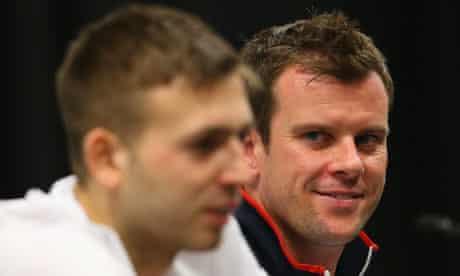 Leon Smith and Dan Evans