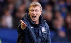 David Moyes, new Manchester United manager