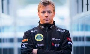Kimi Raikkonen of Lotus