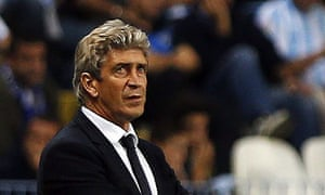 Chilean coach Manuel Pellegrini prefers controlled dominance
