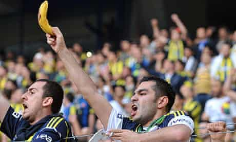 A Fenerbahce supporter