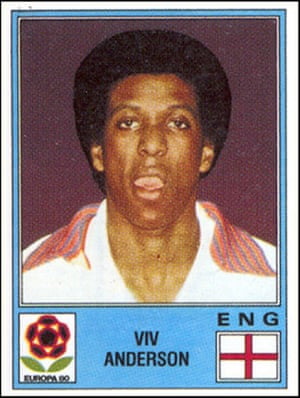 Beautiful Games: stickers from Old School Panini