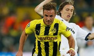 Borussia Dortmund's Mario Götze