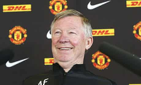 Sir Alex Ferguson Gives Final Press Conference As Manchester United Manager