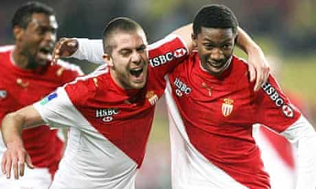 Monaco's French forward Serge Gakpe