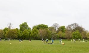 Three-sided football
