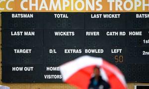 Rain delays the start of England v NZ