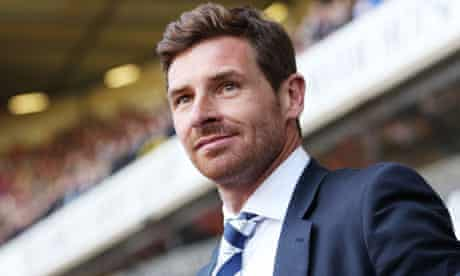 Tottenham Hotspur manager André Villas-Boas
