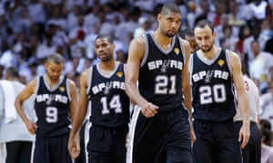 Spurs' Duncan, Ginobili, Neal and Parker
