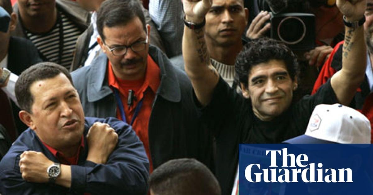 Diego Maradona V George W Bush Diego Maradona The Guardian