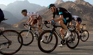 Chris Froome in the Tour Of Oman