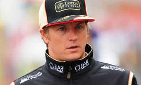 Kimi Raikkonen, Lotus f1 driver