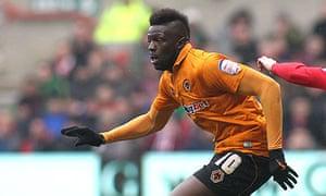 Wolverhampton Wanderers' Bakary Sako