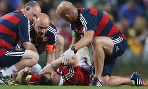 Cian Healy receives attention