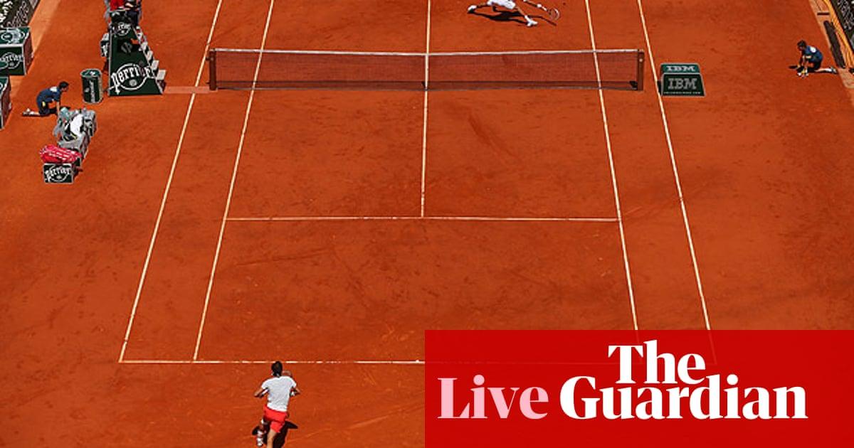 Novak Djokovic V Rafael Nadal French Open As It Happened Jacob Steinberg Sport The Guardian
