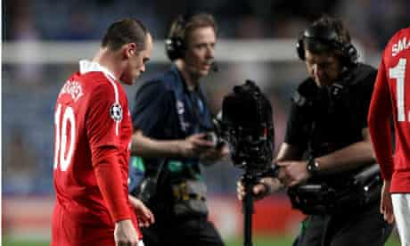 Wayne Rooney, television cameras
