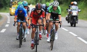 Tejay van Garderen leads the race