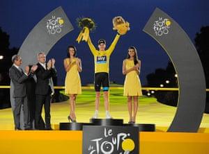 Tour De France Siegerehrung
