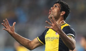 Diego Costa has developed a controversial reputation while playing for the Atlético Madrid