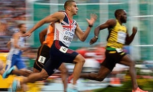 Adam Gemili of Britain