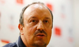 Rafael Benítez is 'really pleased' with the signing of Gonzalo Higuaín