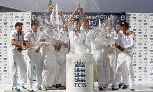 Alastair Cook celebrates