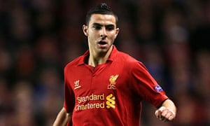 Liverpool's Oussama Assaidi