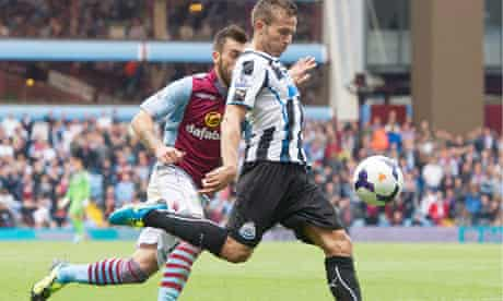 Newcastle United's Yohan Cabaye has been on best behaviour since the transfer window closed