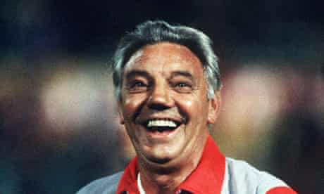 Joe Fagan won the treble in the first of his two seasons in charge of Liverpool