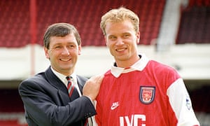 Arsenal Sign Dennis Bergkamp