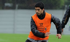 Luis Suárez  Liverpool FC Training