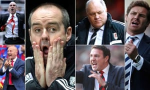 This season's sacked Premier League managers