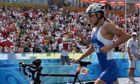 Hollie Avil, triathlete