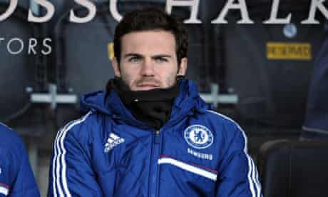 Juan Mata has found first-team opportunities limited at Chelsea this season